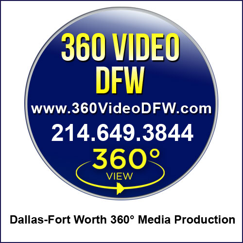 360° Video, 360° Virtual Tours Production, 360 degree photography in the DFW