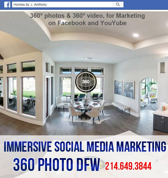 360 Photo DFW Offers 360° Content For Immersive Social Media Marketing | 360° Media Production Dallas, Tx